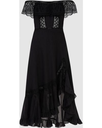 Черное платье миди Charo Ruiz