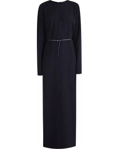 Вечернее платье длинное - черное Alexander Terekhov