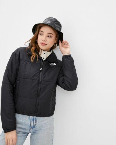 Черная утепленная куртка The North Face