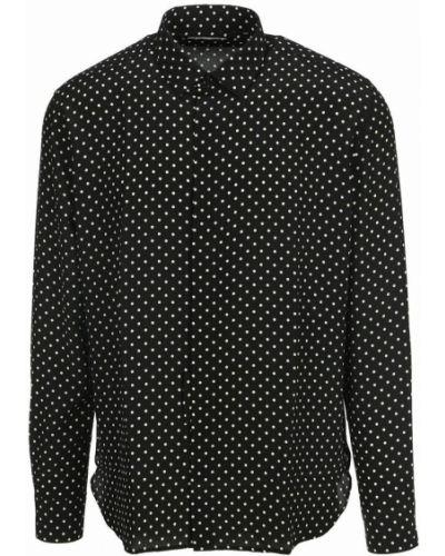 Koszula oversize - czarna Saint Laurent