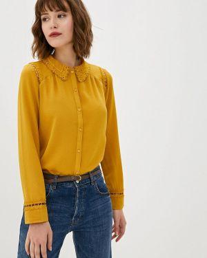 Блузка с длинным рукавом желтый Art Love