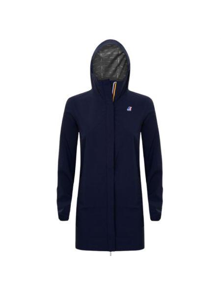 Niebieska kurtka K-way