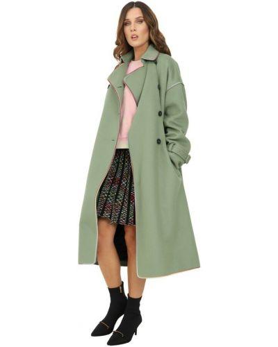 Zielony płaszcz Missoni