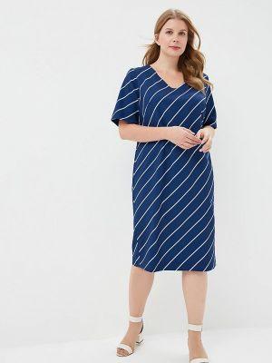 Повседневное платье - синее Balsako