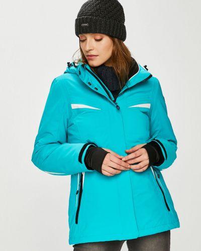 Теплая синяя куртка Killtec