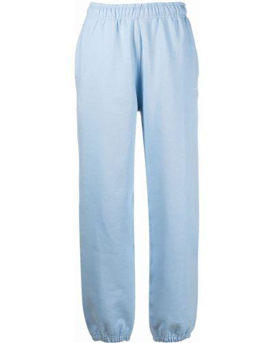Niebieskie spodnie bawełniane Nike