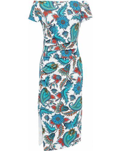 Платье с разрезом - белое Chiara Boni La Petite Robe