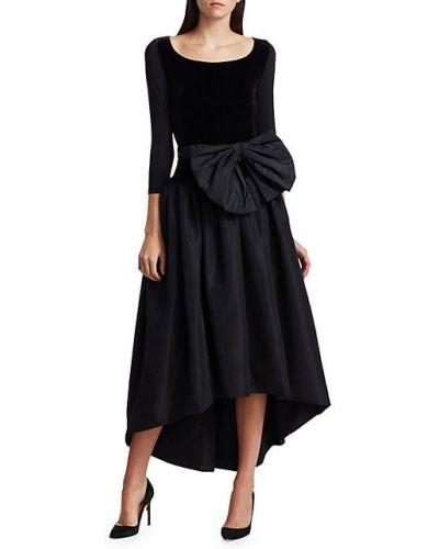 Свободное черное платье для полных Chiara Boni La Petite Robe