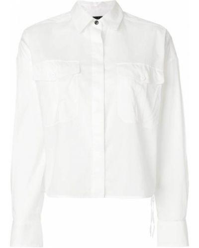 Белая рубашка Rag & Bone/jean