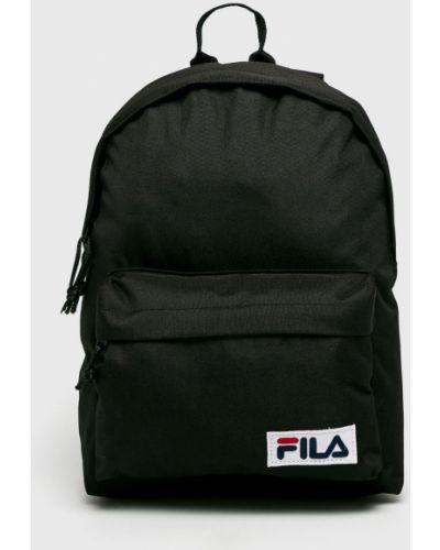 Черный рюкзак с отделениями Fila