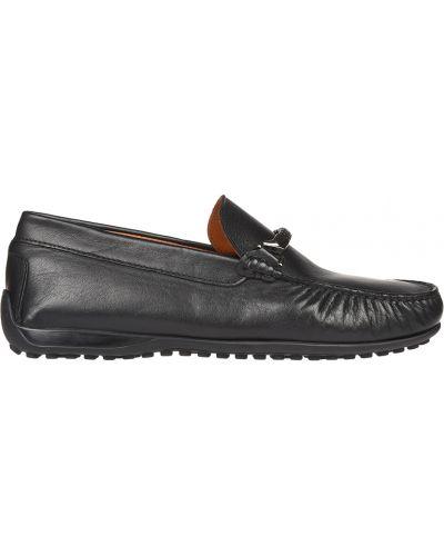 Черные мокасины кожаные Gianni Famoso