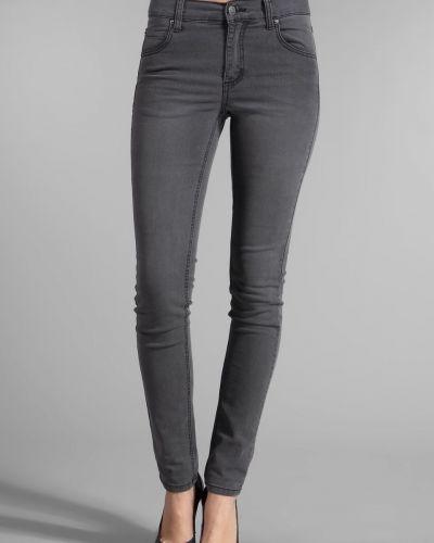 Серые зауженные джинсы-скинни свободного кроя Cheap Monday