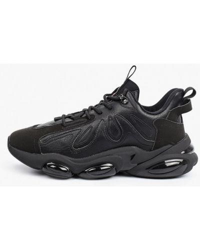 Низкие кроссовки - черные Strobbs