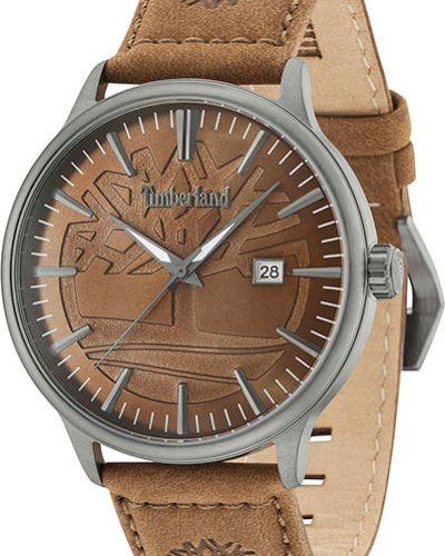 Часы водонепроницаемые с кожаным ремешком скромный Timberland