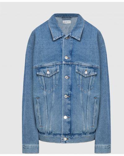 Синяя джинсовая куртка Balenciaga