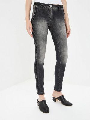 Серые джинсы-скинни узкого кроя Alessandro Dell'acqua