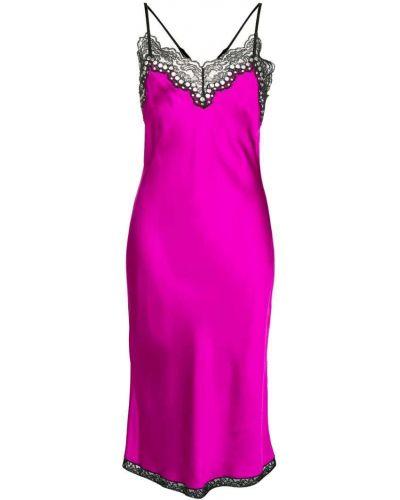 Платье миди розовое платье-комбинация Alexander Wang