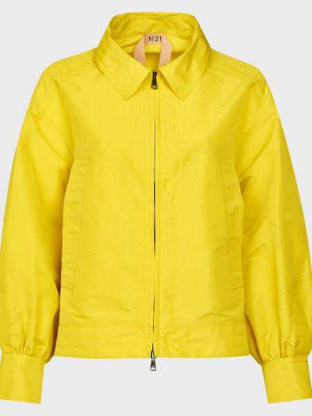 Желтая куртка на молнии N°21