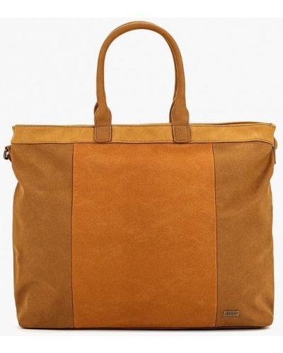 Спортивная сумка из нубука Roxy