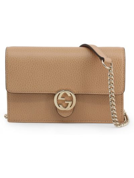 Beżowa torba na ramię Gucci
