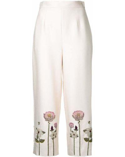 Укороченные брюки с поясом Vilshenko