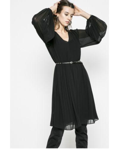 Платье миди длинное однотонное Pepe Jeans