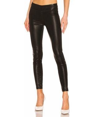 Czarne legginsy skorzane miejskie Blanknyc