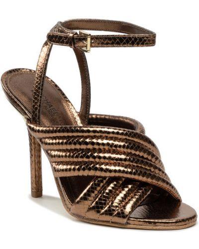 Brązowe sandały Michael Michael Kors