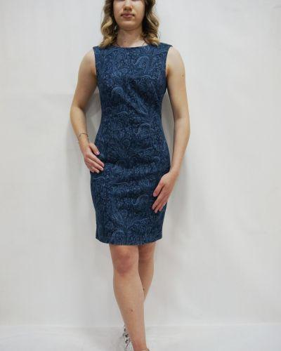 Платье - синее Madeleine