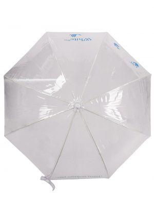 Niebieski parasol z printem Off-white
