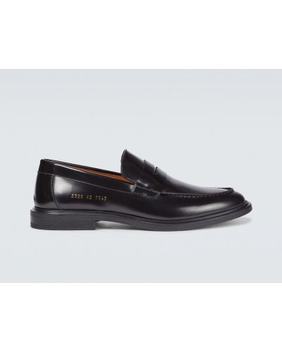 Czarne loafers Common Projects