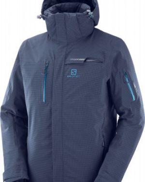 Зимняя куртка с капюшоном утепленная Salomon