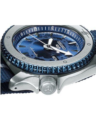 Niebieski zegarek sportowy Seiko