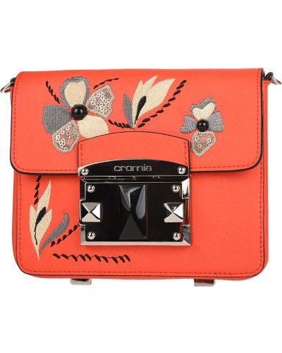Кожаный сумка с отделениями Cromia