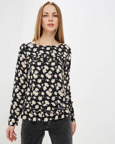 Черная блузка с длинным рукавом Top Secret