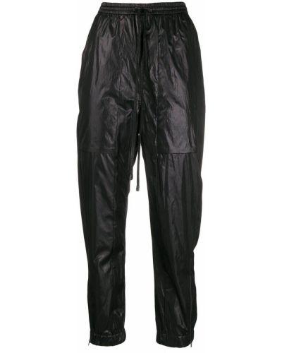 Фиолетовые спортивные брюки с манжетами Ilaria Nistri