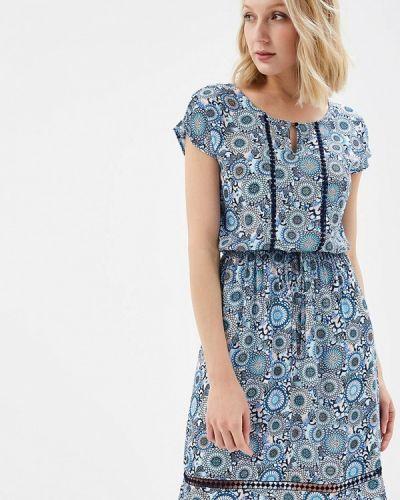 Синее платье весеннее Sela