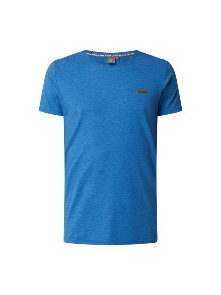 Niebieska t-shirt bawełniana Ragwear