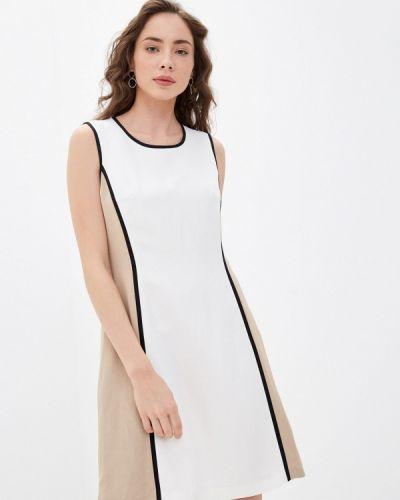 Белое повседневное платье Betty Barclay