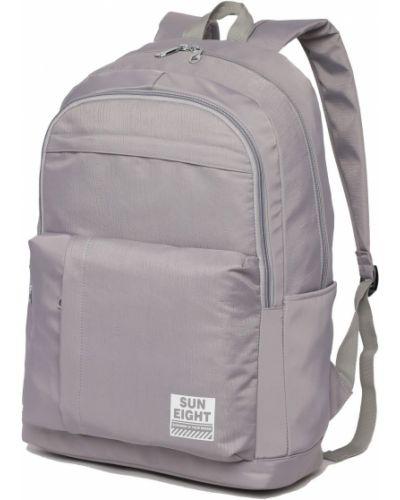 Мягкий школьный рюкзак для ноутбука на молнии Sun Eight