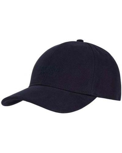 Niebieski bawełna bawełna czapka baseballowa Ck Calvin Klein