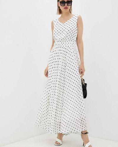 Прямое белое платье Trendyangel