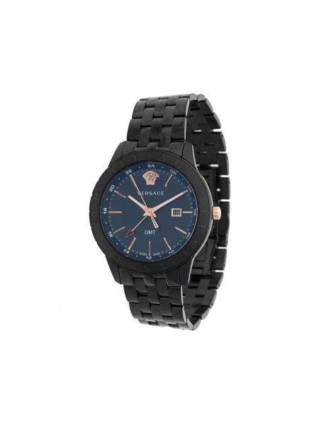 Sport zegarek czarny do twarzy Versace