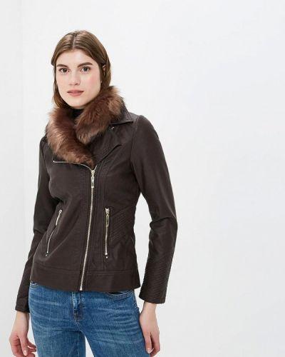 Кожаная куртка осенняя Wallis