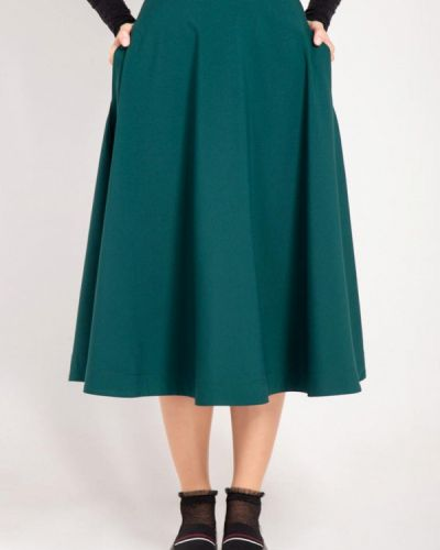 Юбка зеленый Bessa