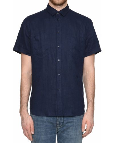 Рубашка синий Trussardi Jeans