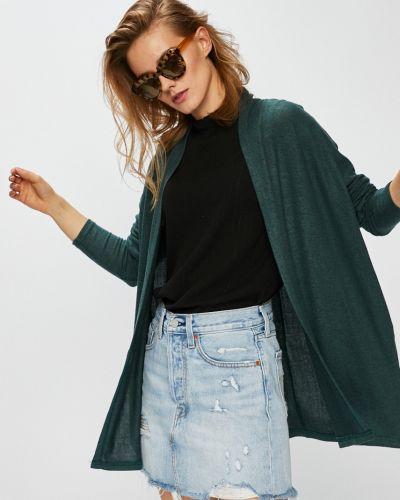 Зеленый свитер в полоску Only