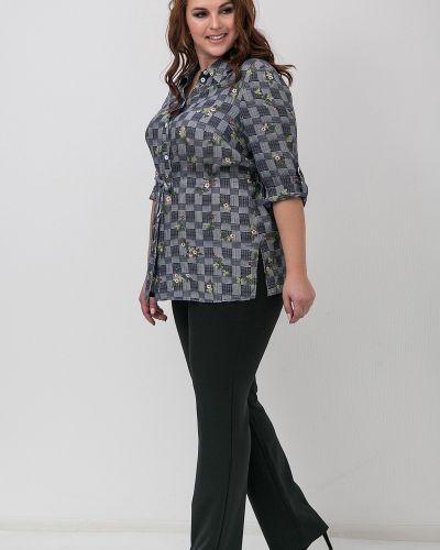 Повседневные классические брюки с поясом из вискозы Modellos