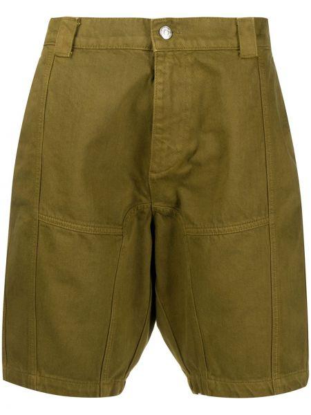 Хлопковые серые шорты со вставками Gmbh