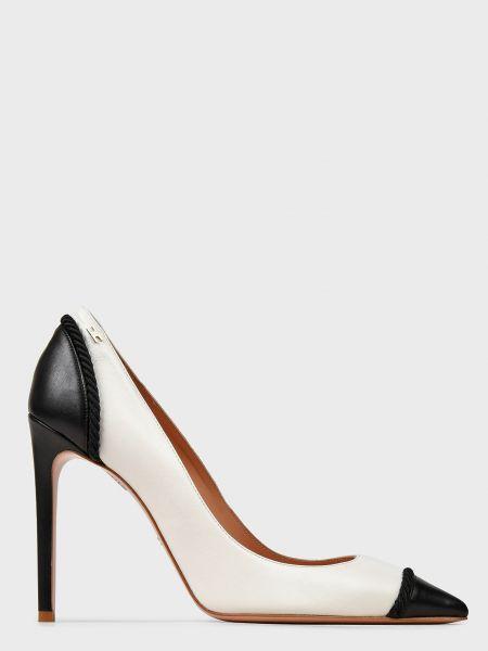 Кожаные туфли - белые Elisabetta Franchi